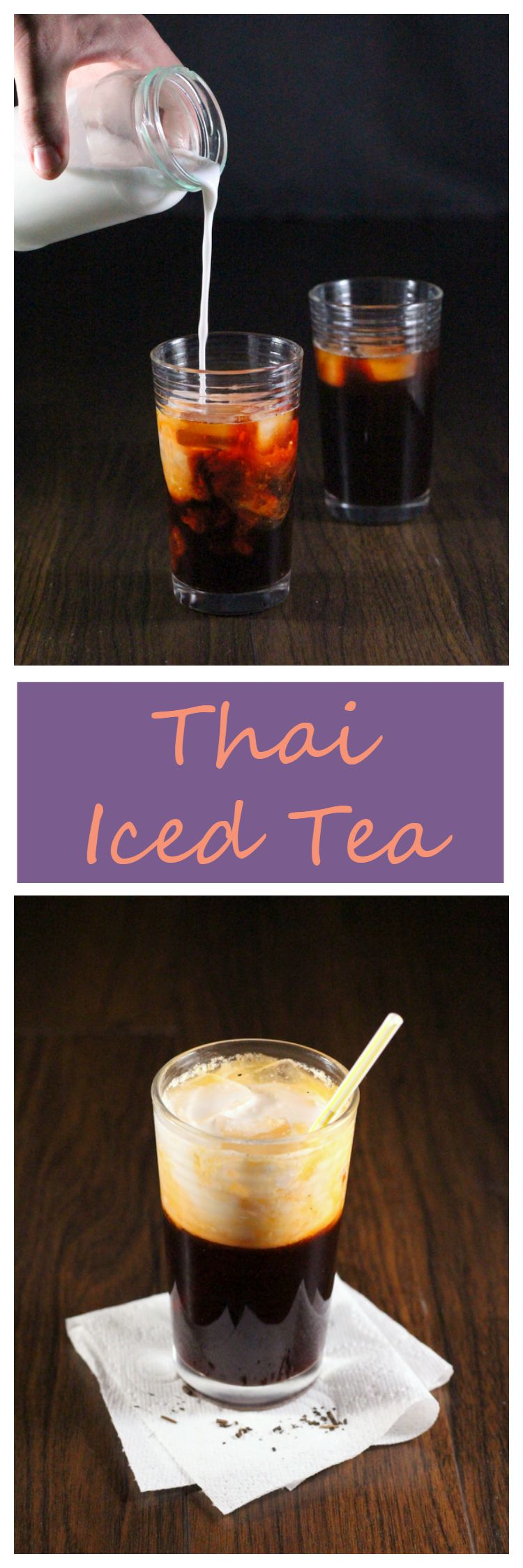 Thai Iced Tea Banner