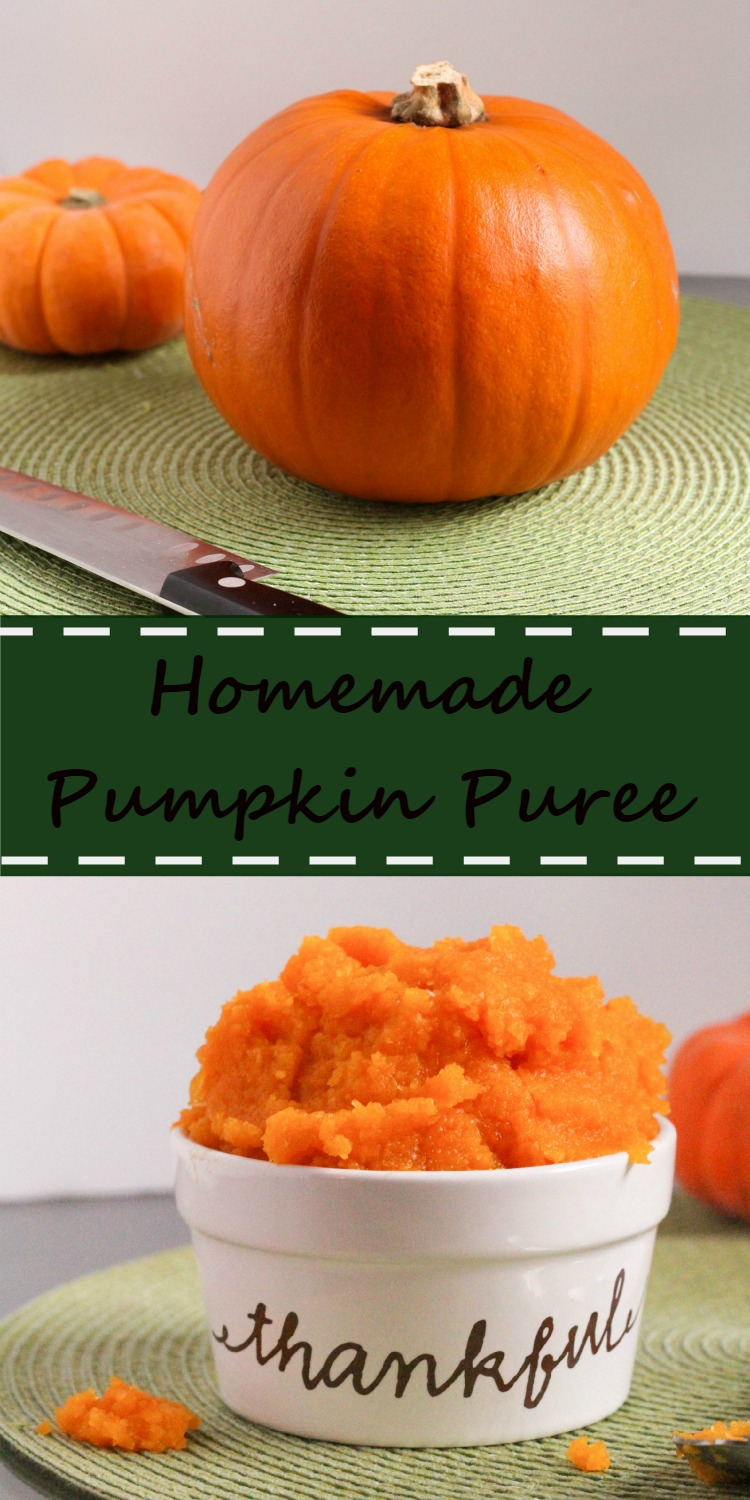 How to make homemade Pumpkin Puree. This recipe is simple, easy, and delicious.