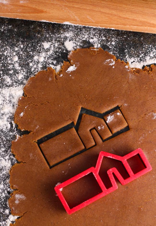 Mini Gingerbread House Cookie Cutter
