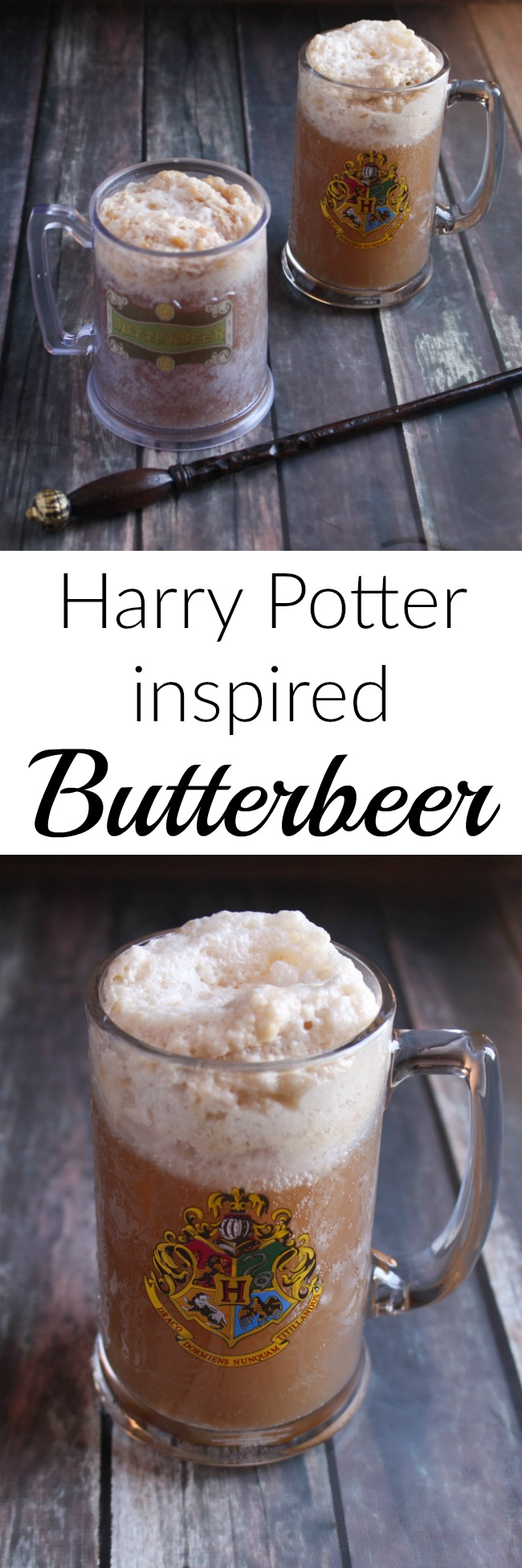 Inspired by the Harry Potter series, this recipe for butterbeer is a sweet, creamy, butterscotch treat. Whip up a batch, and cozy up with your favorite Harry Potter film or book. A great way to bring the series to life!
