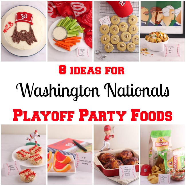 8 Nationals Playoff Party Foods