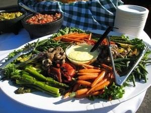 Fancy Vegetable Platter