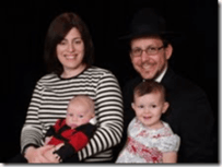 Chavi Cohen and family