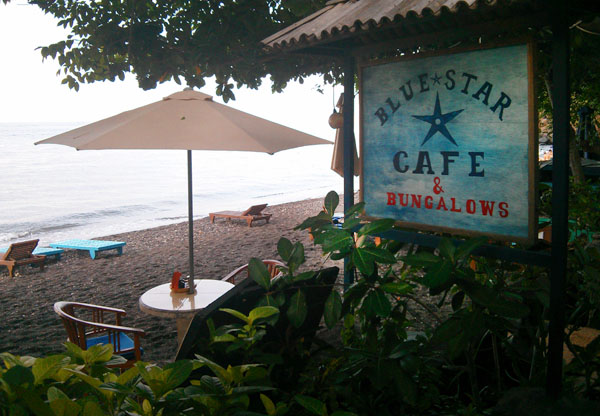 Blue Star Cafe Jemeluk Amed Bali
