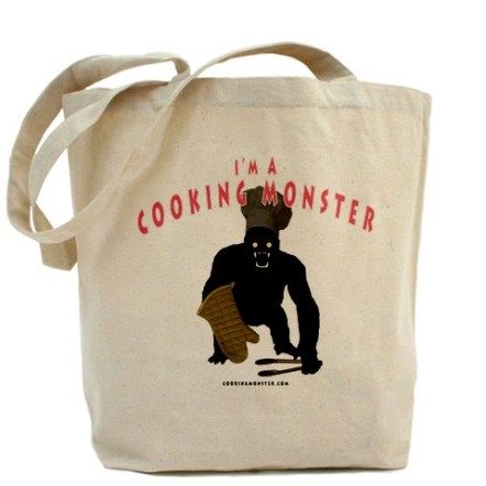 Cooking Monster Tote