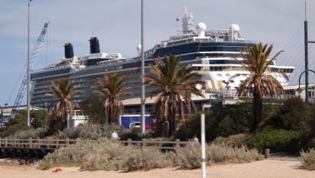 Celebrity Solstice at Station Pier