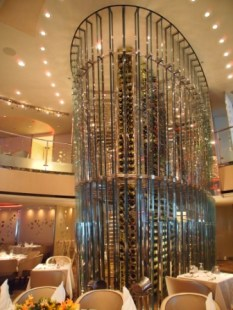 Main Dining Room Wine Tower