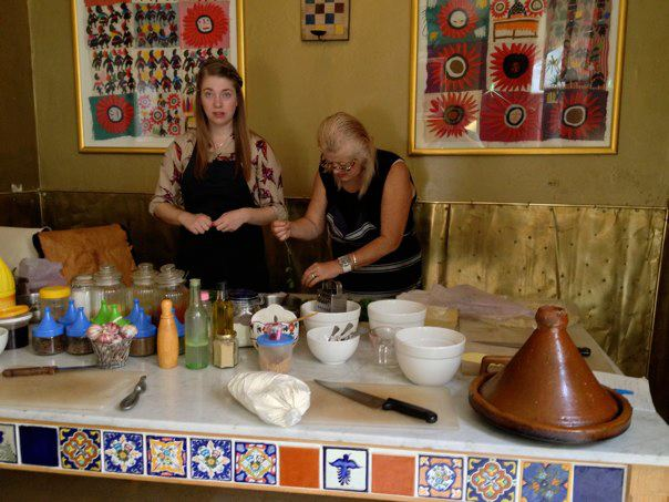 Cooking class in riad