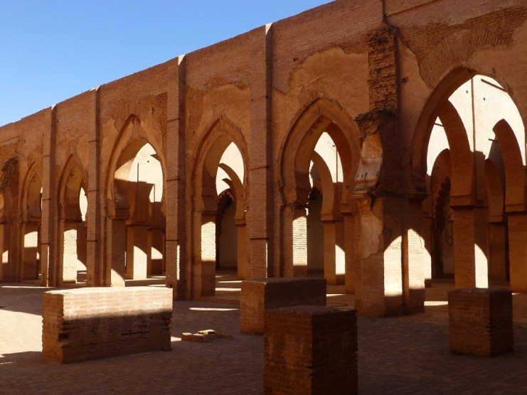Tinmal mosque arcs