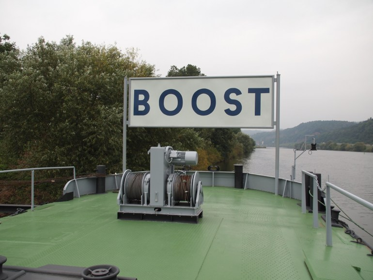 My Boost shipyard at Trier, germany