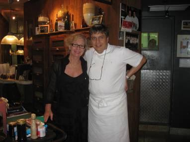 Chef Gauthier and Tonya 2007