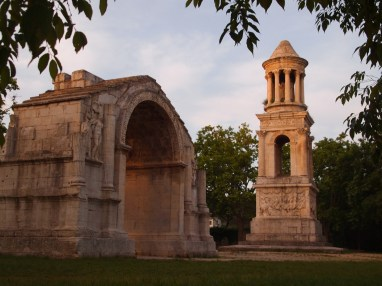 Mausoleum from 30BC and The Triumphal Arch from 10BC