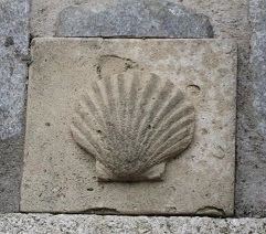 The scallop shell symbol of St James