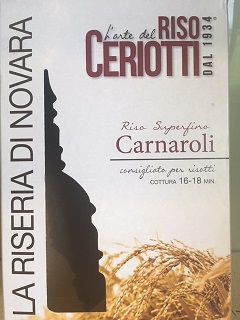 Ceriotti Carnaroli rice
