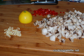 lemon orzo with mushrooms (3)