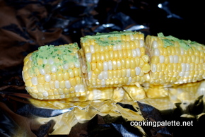 corn with parsley garlic butter (9)