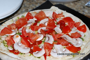 flat bread with topping (8)