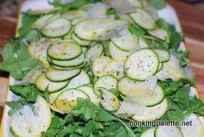 zucchini carpaccio  (2)