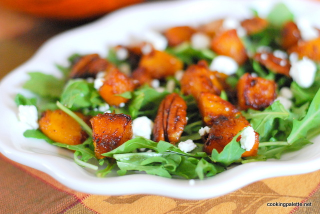 caramelized pumpkin salad (9)