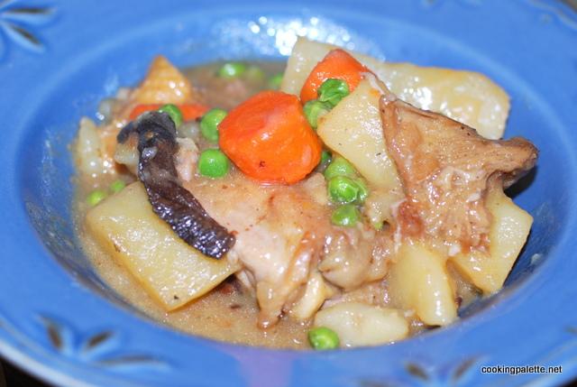 chicken stew wild mushrooms (19)