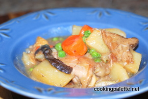 chicken stew wild mushrooms (20)