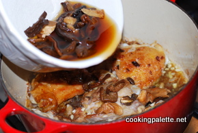 chicken stew wild mushrooms (8)