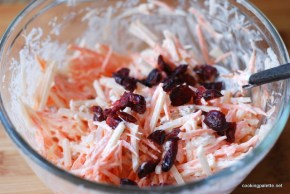 carrot raisin jicama cranberry salad (3)