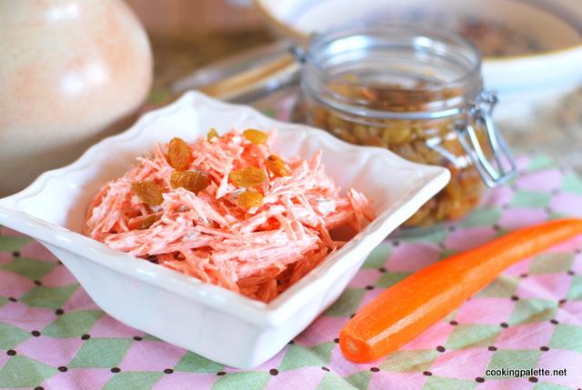 carrot raisin salad (6)