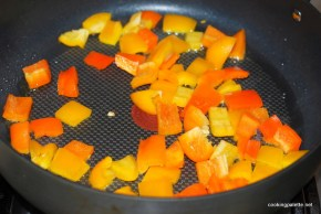 garbanzo pepper tomato salad (1)