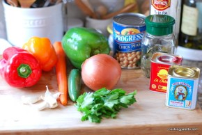 paprika pork with peppers and garbanzo (1a)