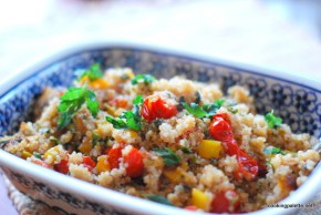 quinoa with peppers and tomatoes (11)