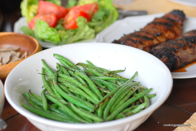 steak with green beens grilled (9)