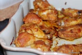 floured wings (10)