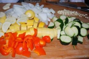 warm salad with garbanzo  (1)