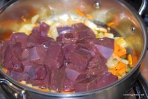 beef liver whole grain mustard sour cream sauce  (7)