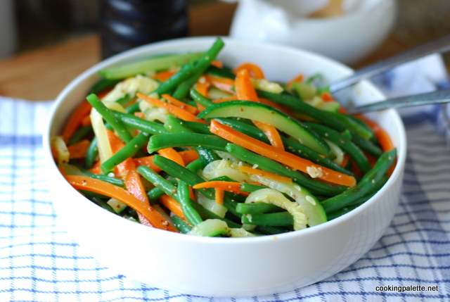 green bean, carrot and zucchini salad (12)