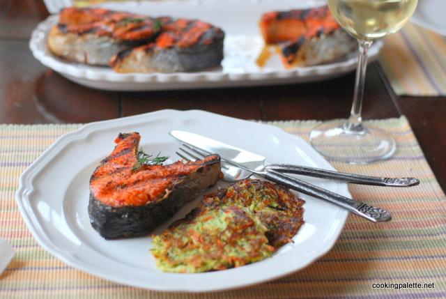 zucchini fritters  (20)