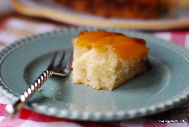 upside down peach cake  (24)