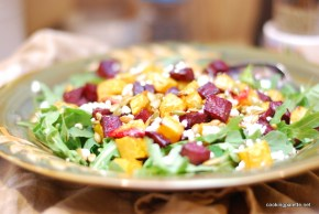 roasted pumpkin beet salad (15)