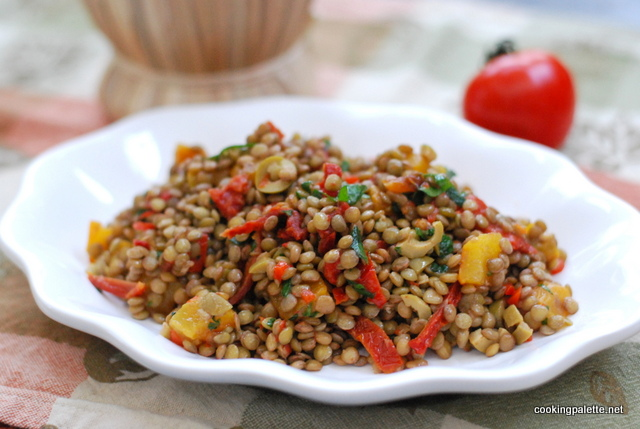 roasted pepper sun dr tomato lentil salad (20)