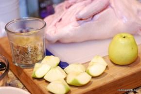 honey pomegranate glazed duck (2)