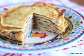 pancake cake with mushrooms (14)
