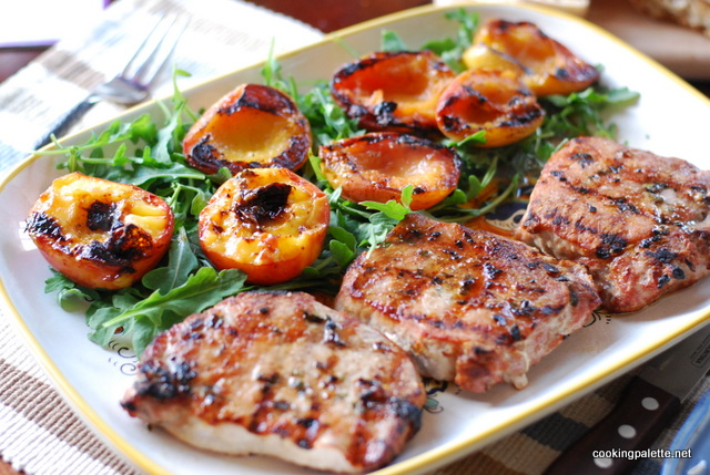 pork chops with peaches (7)