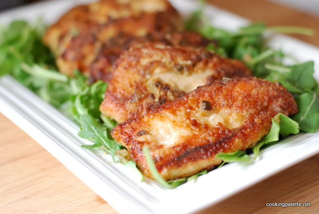 soy ginger chicken on arugula (16)