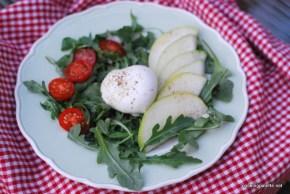 burrata and pear salad (16)