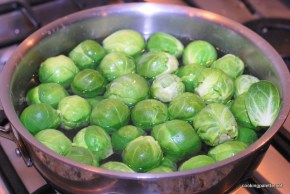 lemony garlicy brussel sprouts (4)