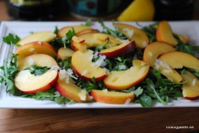 nectarine soft cheese salad (2)