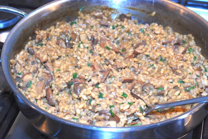 mushroom risotto00024