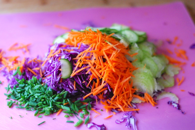 red cabbage salad peanut dressing 00016