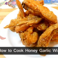 How to Cook Honey Garlic Wings Recipe - Buffalo Wings
